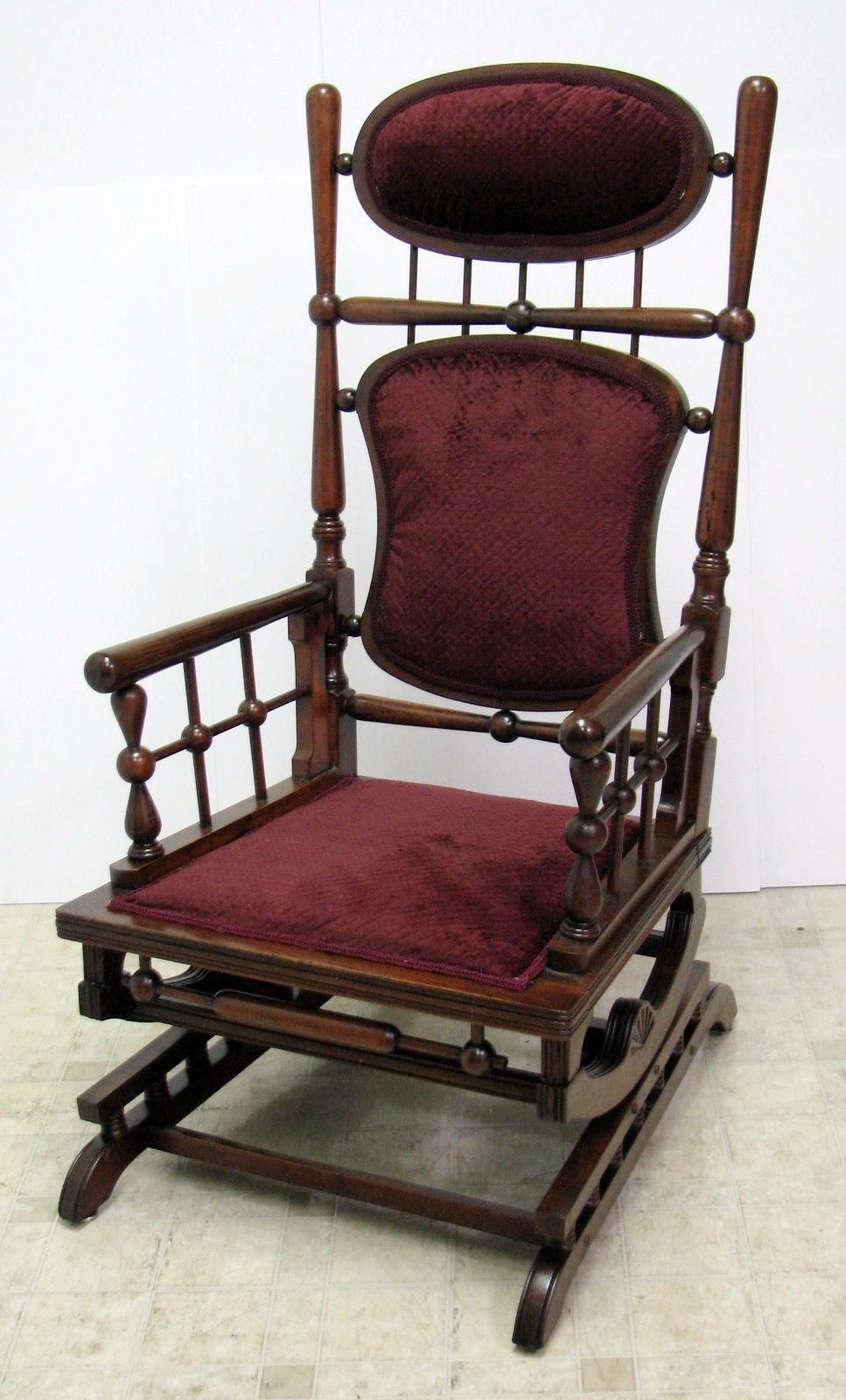 Victorian rocking chair - Find This Pin And More On Steampunk Victorian Furniture Especially Hunzinger Rockers
