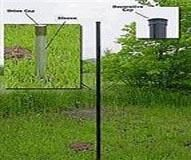 Check Out This Deer Fence Post For End And Corner Posts And Caps