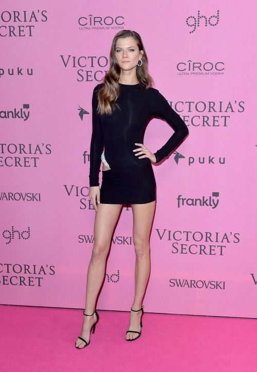 Victoria's Secret Fashion Show 2014 Red Carpet. The Pink Carpet VS Runway! Kasia Struss