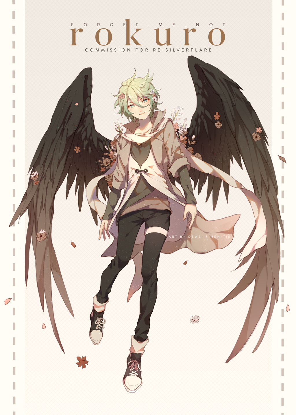 C Re Silverflare By Hen Tie Fantasy Character Design Anime Anime Fantasy