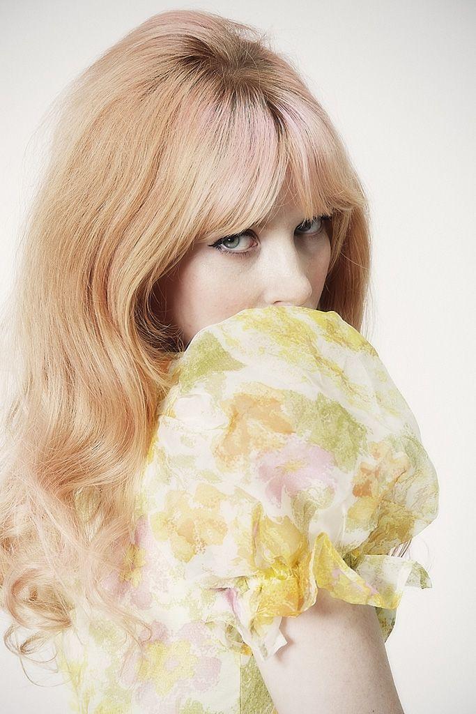 Pinky Blonde Hair Rose Goldylocks