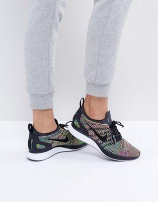 Zapatillas de deporte negras Air Zoom Mariah Flyknit Racer de Nike RnzAcx