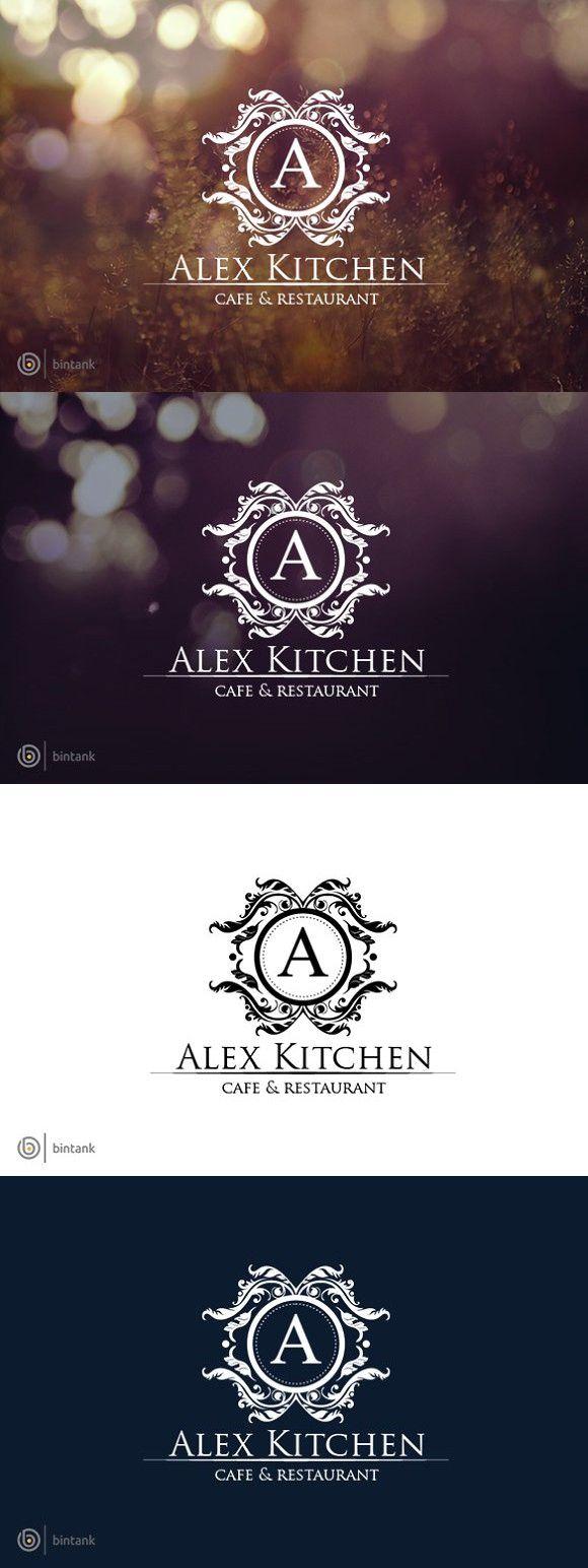classy logo  alex kitchen  classy logos kitchen logo
