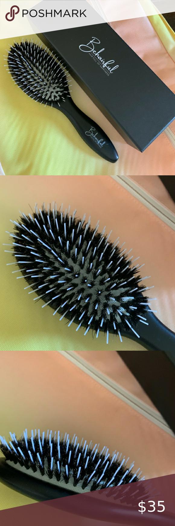 Behairful Detangling Brush In 2020 Detangling Brush Detangler Styling Brush