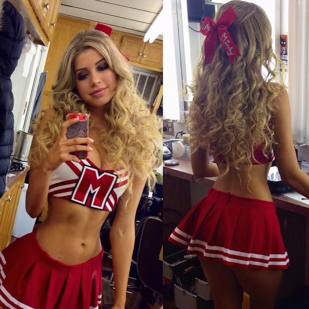 Allie Deberry Hot allie deberry | cheerleading outfits, sport girl, hot
