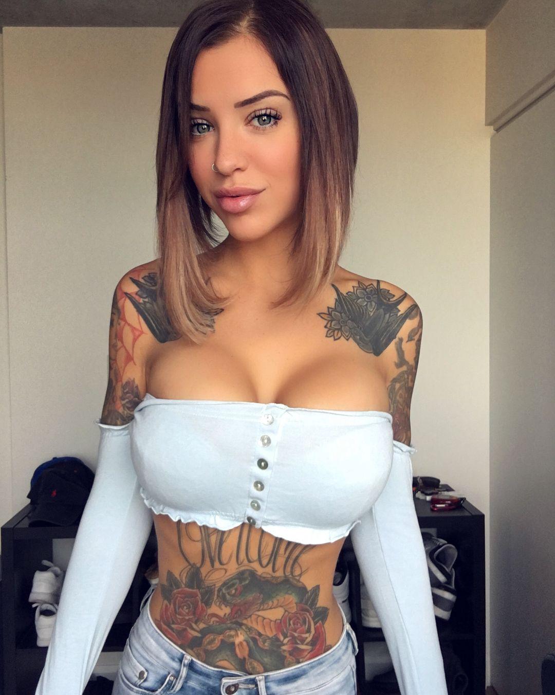 Fitness Girl Tattoo