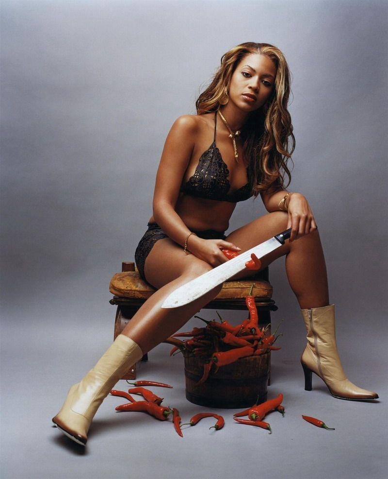 Beyonce | Beyonce hot pepper meat cleaver picture | Beyoncé ...