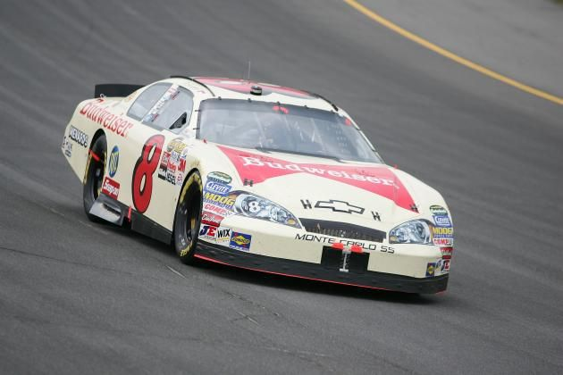 9fb483d7f Dale Earnhardt Jr., at the 2006 3M Performance 400 in Michigan, ran a  throwback paint scheme in honor of his grandfather, Ralph.