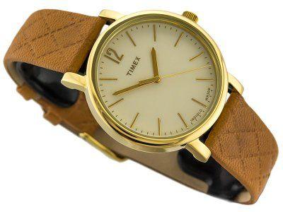 Damski Zegarek Timex Tw2p78400 Indiglo Wyjatkowy Timex Fashion Gold Watch