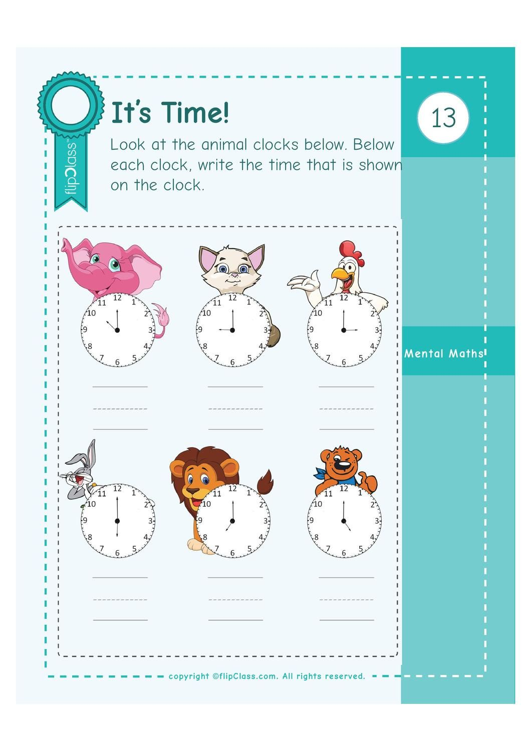 Genius Kids Worksheets For Ukg Kg 2 4 6 Years