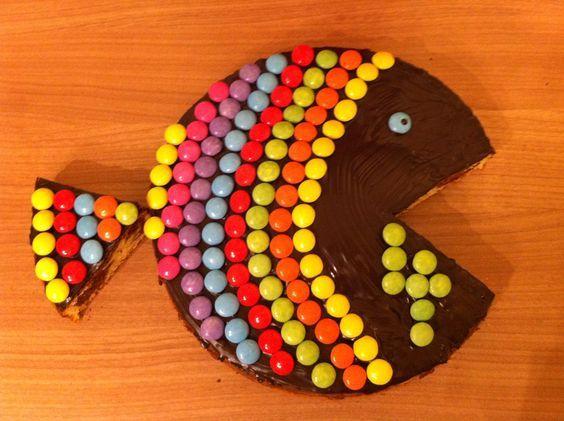 Kuchen * Geburtstag * Fisch * Kindergeburtstag: