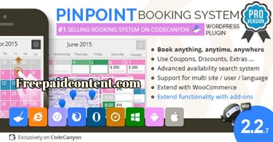 Pinpoint-booking-system wordpress plugin v.2.2.7 help you to create ...
