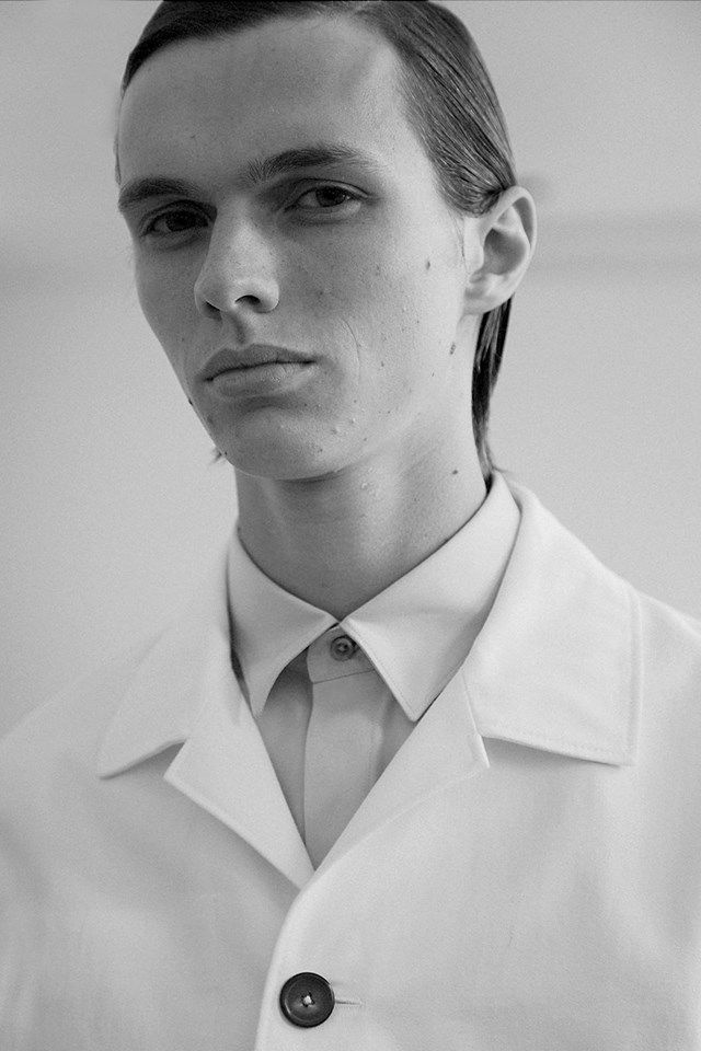 Backstage at Jil Sander SS17