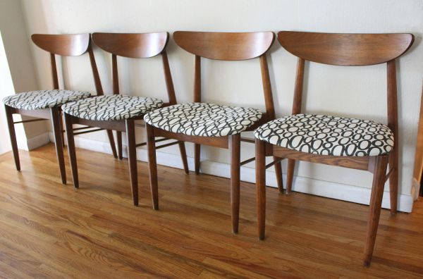 mcm curved back chairs with circle seats 1 Dining Room Pinterest