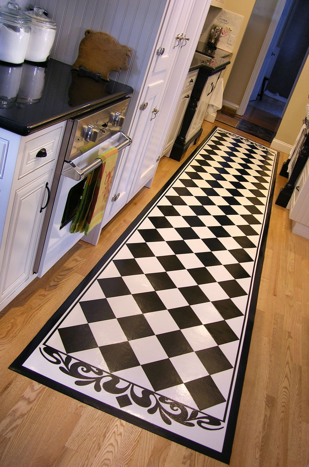 Black Diamonds. Kitchen FloorsRug ...
