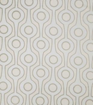 Home Decor Print Fabric-Eaton Square Continental-Grey Geometric