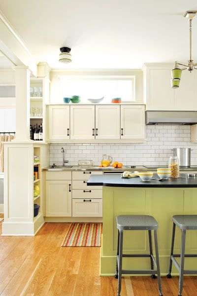 Tidy Fit Creating Order In A Craftsman Bungalow This Old House Mobile Bungalow Kitchen House Design Kitchen Home Kitchens
