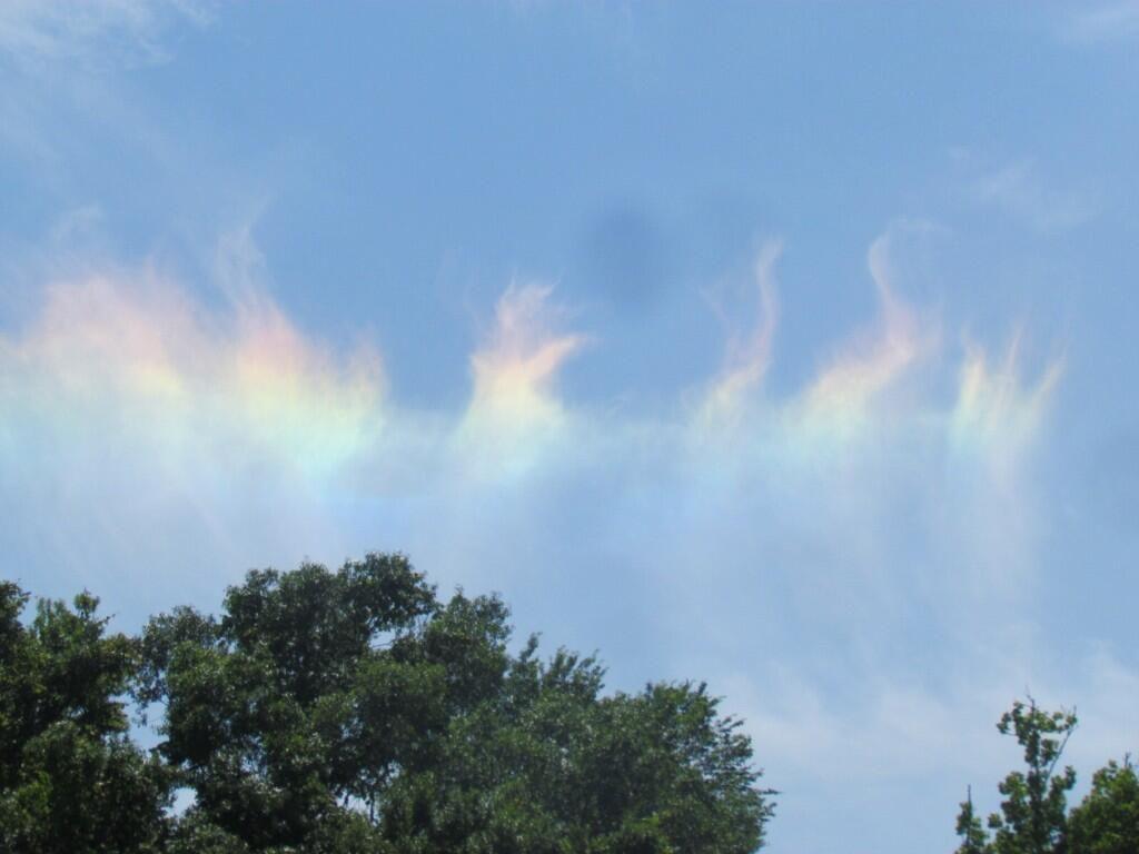 "@Ann Bretl Do @Brad Panovich @PaulFox13 @dougkammerer @capitalweather ""Fire rainbow"" Circumhorizontal arc pic taken today, Jax FL pic.twitter.com/IRdzb9NjEb"