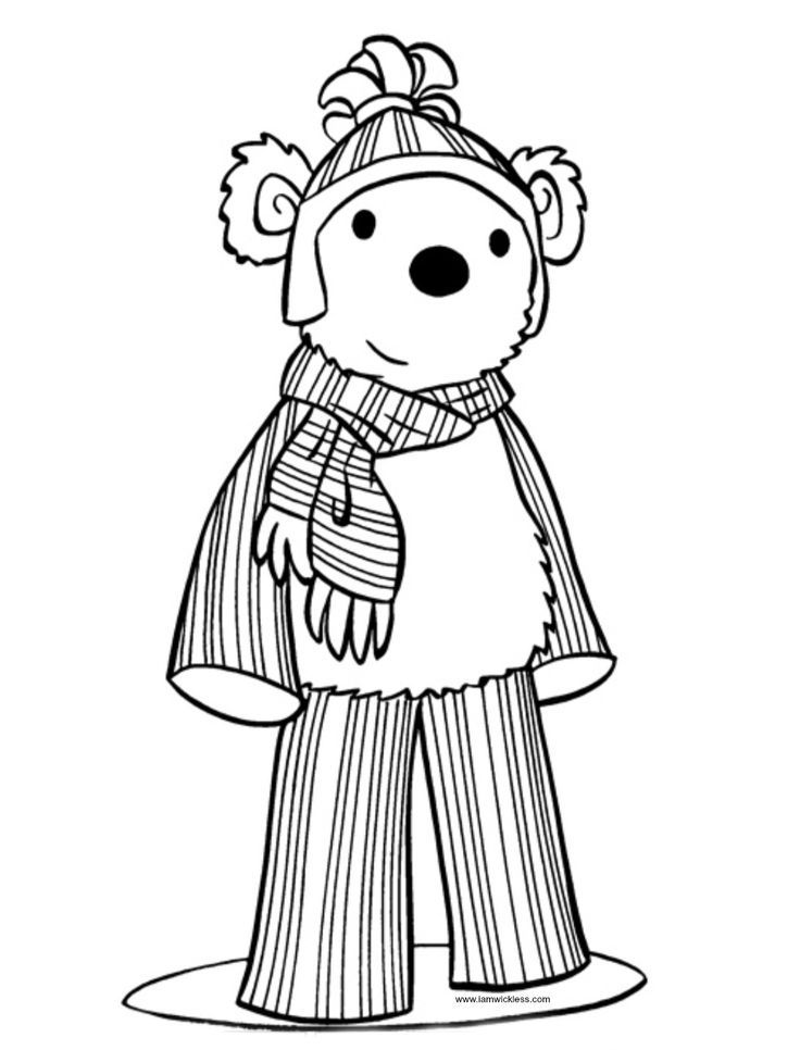 scentsy buddy free printable coloring sheet