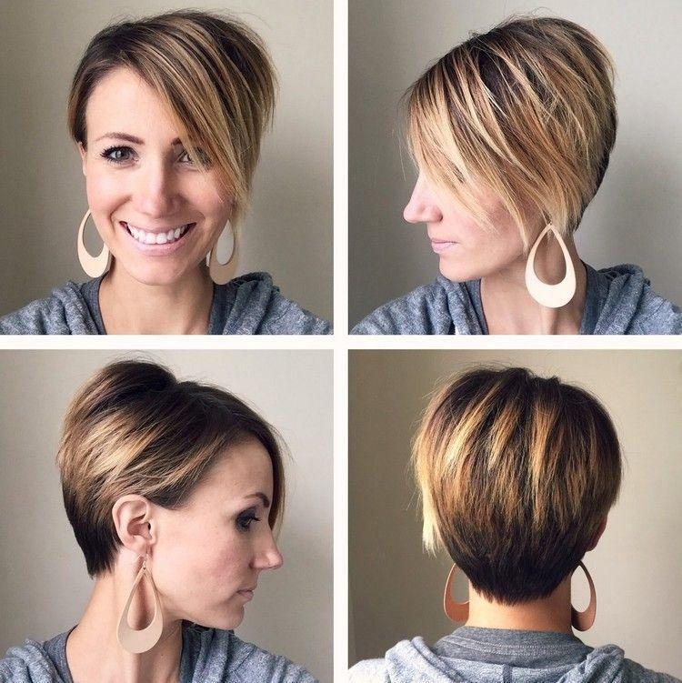 ombr hair cheveux courts en 30 id es tendance pour un look branch coiffure pinterest. Black Bedroom Furniture Sets. Home Design Ideas