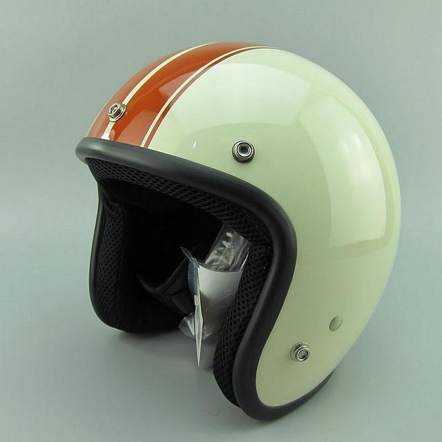 Vintage 3 4 Open Face Scooter Helmets Capacetes Para Motociclistas Capacete Capacete Vespa