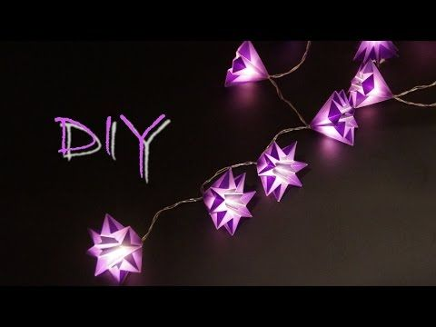 Basteln Mit Papier Zu Weihnachten Schöne Sterne