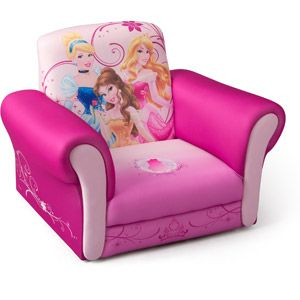 Walmart Disney Princess Deluxe Upholstered Chair Upholstered Chairs Kids Sofa Toddler Chair