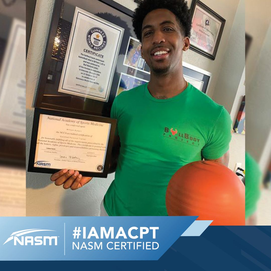IAMACPT in 2020 Personal training programs, Personal