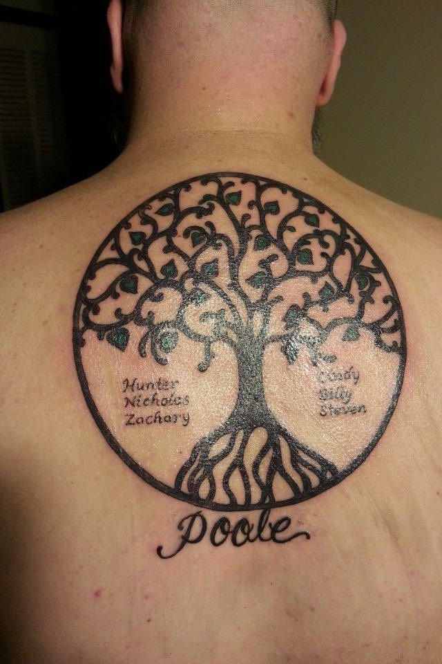 c5b1180be 76 Tree Tattoos Ideas To Show Your Love For Nature | Tatto | Family ...