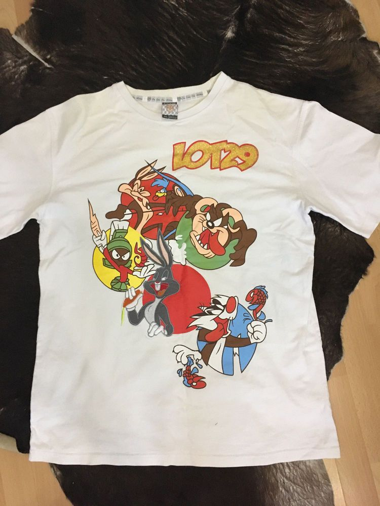 2f3a331c886 LOT 29 shirt Bugs Bunny Embroidered Looney Tunes XXL  fashion  clothing   shoes  accessories  mensclothing  shirts (ebay link)