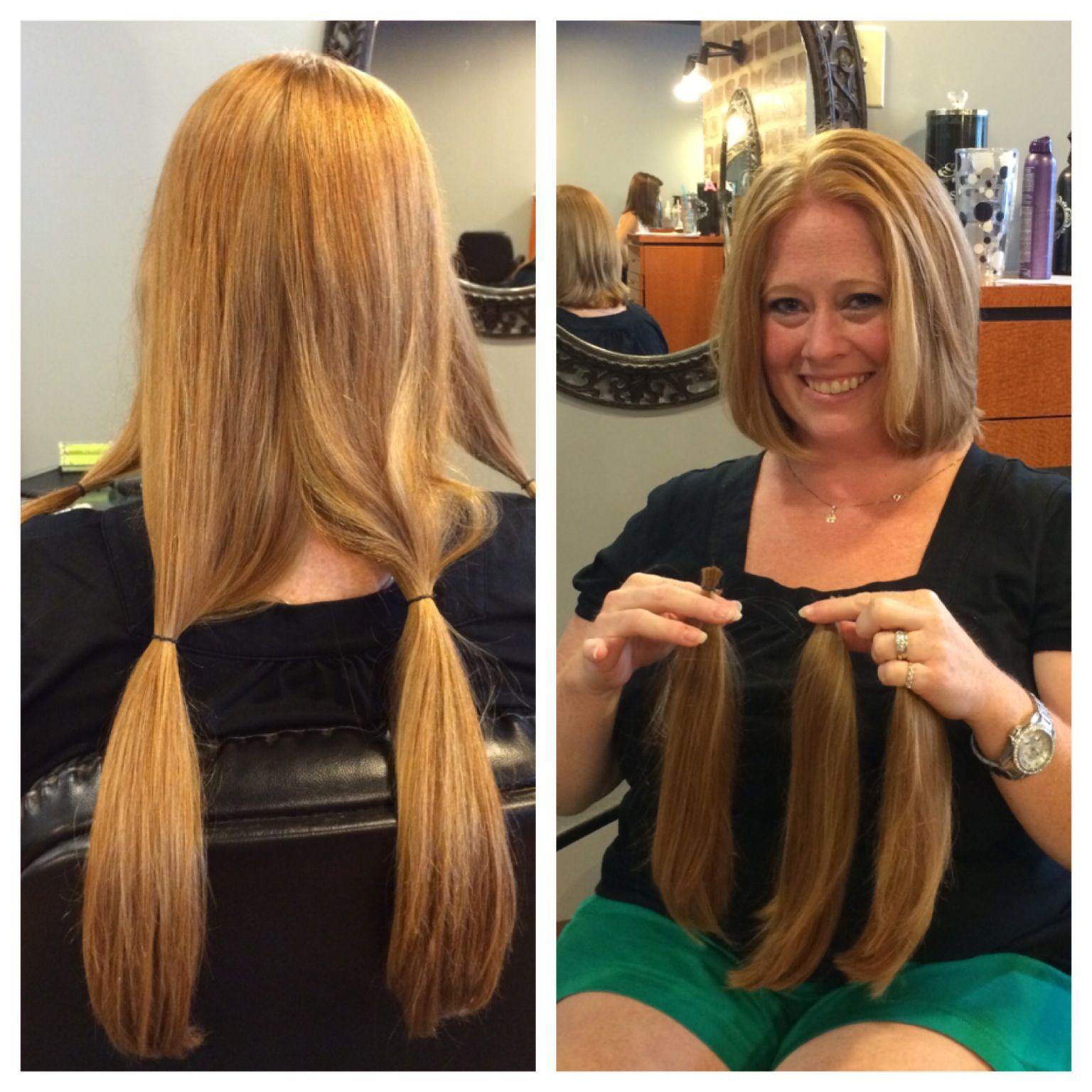 Locks Of Love Donation Stylist Meghan Peck Locks Of Love Donation Hair Styles Long Hair Styles