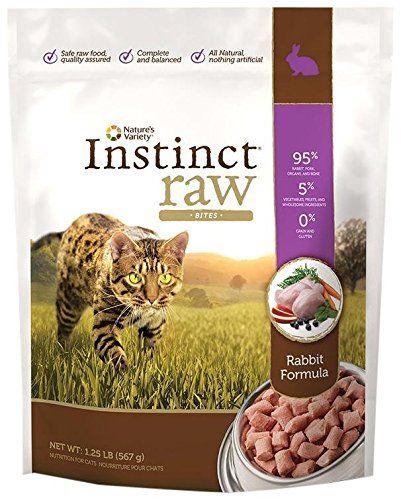 Natures Variety Instinct Raw Frozen Bites For Cats Rabbit Formula