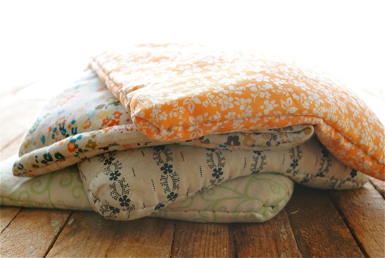 Diy rice sack heating pads diy heating pad diy rice