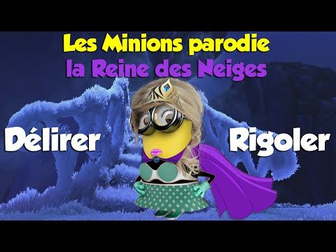 parodie minions la reine des neiges youtube vid os chansons pinterest parodie d lirer. Black Bedroom Furniture Sets. Home Design Ideas