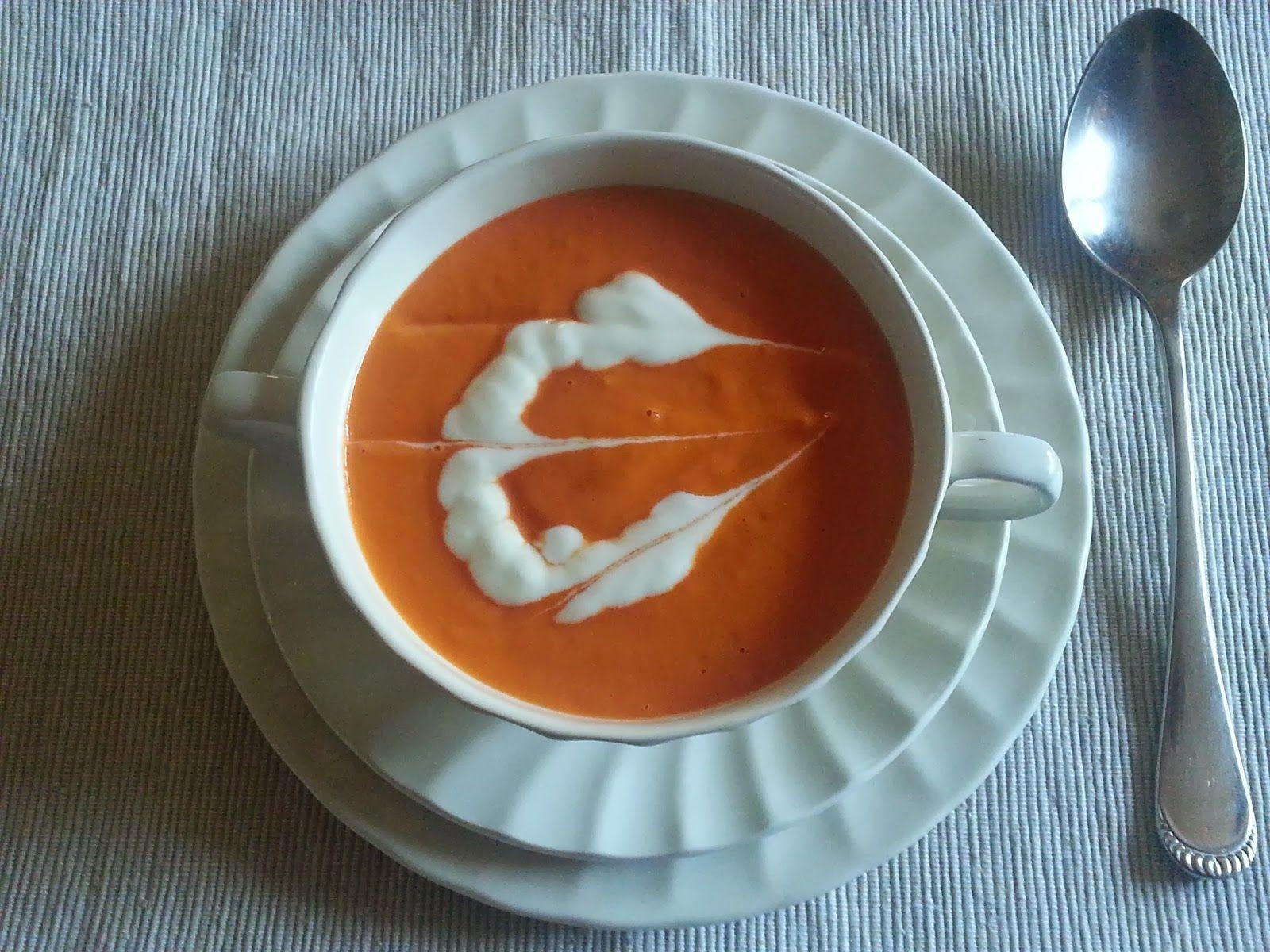 Aprendí a cocinar y ¡menuda cruz!: Crema de tomate canario