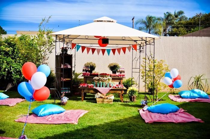 Garden Picnic Party Ideas Planning Idea Supplies Decorations Cake