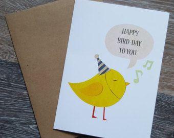 Cat Pun Birthday Card Happy Purr Thday Funny