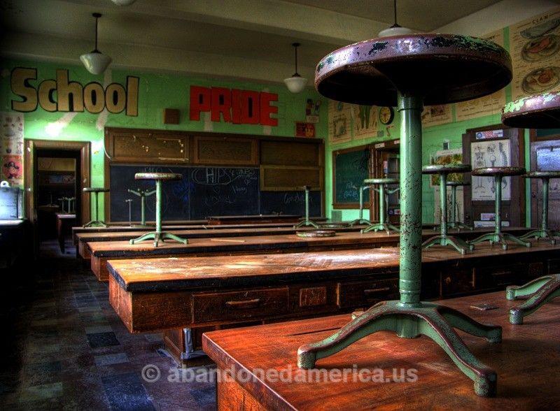 mahanoy middle school - matthew christopher murray's abandoned america