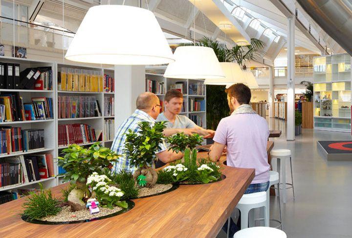 Marvelous LEGO PMD Office By Rosan Bosch Studio, Billund Denmark Office Design Pictures