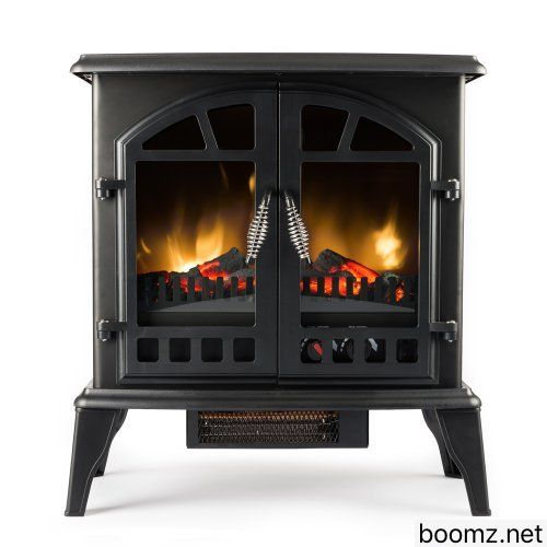 Jasper Free Standing Electric Fireplace Stove 22 Inch Black Portable Electric Vintage Fir Free Standing Electric Fireplace Stove Fireplace Electric Fireplace