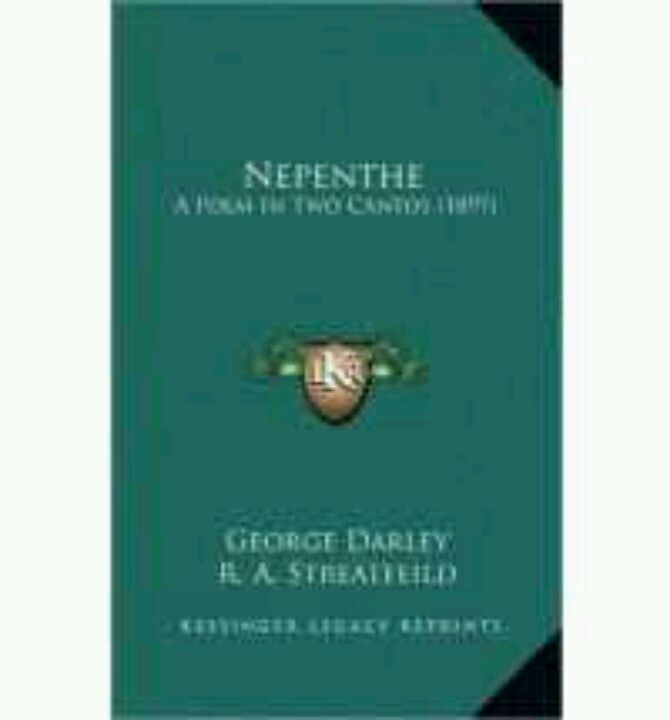 Nepenthe by George Darley. #49BooksofExile
