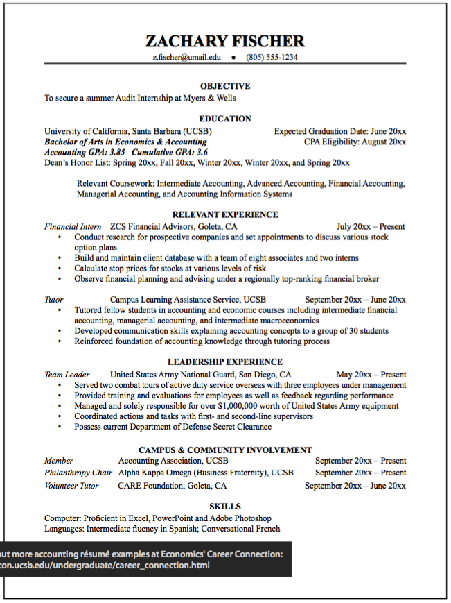 Summer Audit Example Resumes Http Exampleresumecv Org Summer Audit Example Resumes Economics Resume Cv Bachelor Of Arts
