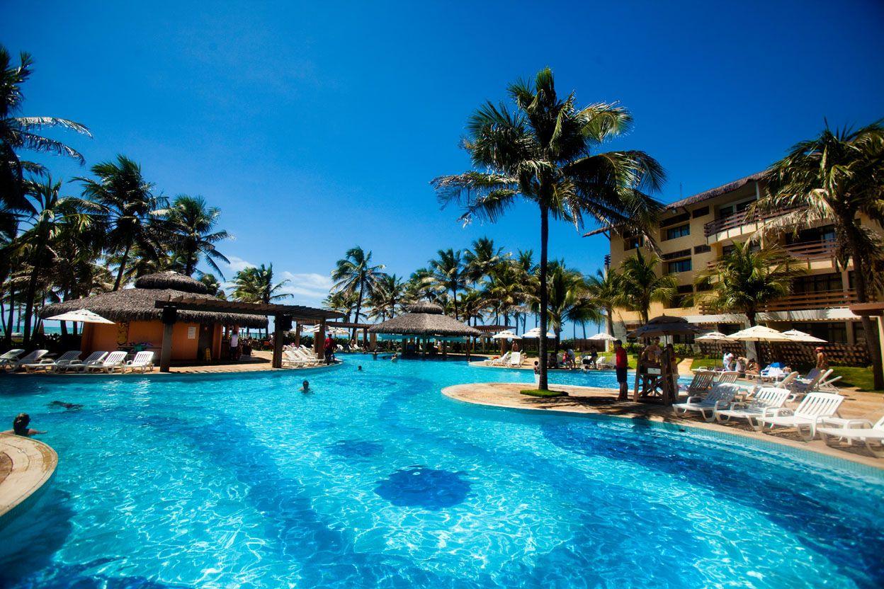 Piscina Céu E Mar No Suites Beach Park Resort Trip