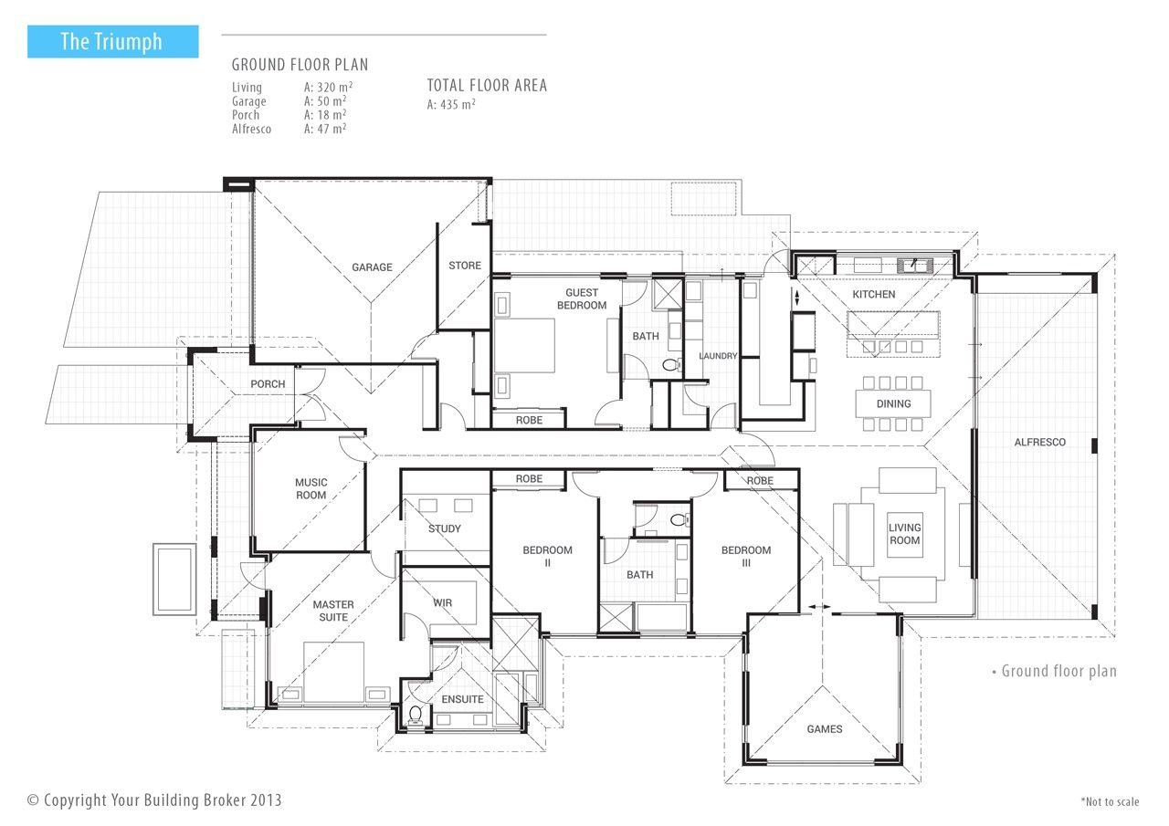 The Triumph Single Storey Luxury Home By Your Building Broker Perth