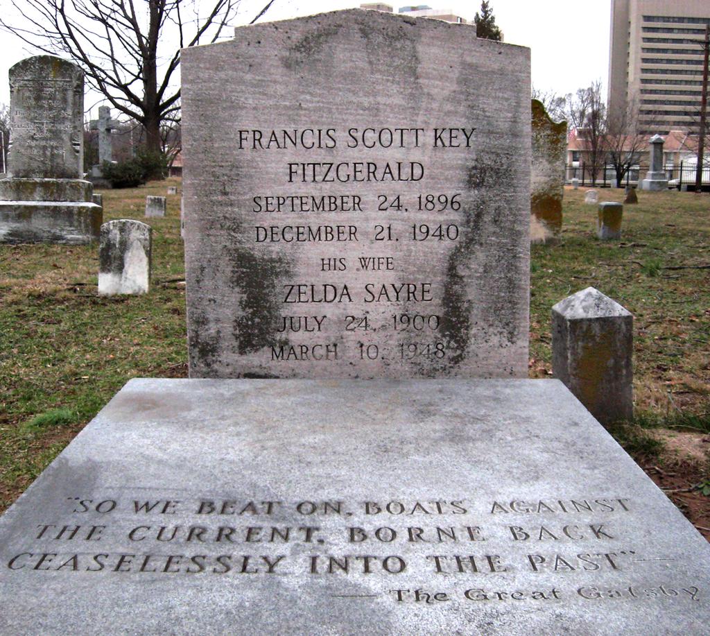 Zelda And F Scott Fitzgerald S Grave In Rockville