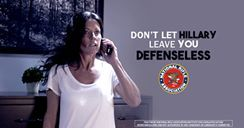 Video: Don't let Hillary leave you defenseless - http://americanlibertypac.com/2016/09/video-dont-let-hillary-leave-defenseless/ | #2016Elections, #BigGovernment, #Candidates, #GunControl, #HillaryClinton, #Video | American Liberty PAC