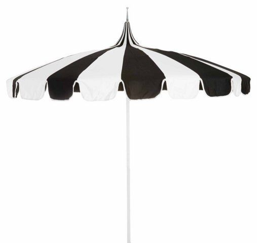 Pagoda Patio Umbrella Black White Pagoda Patio Pool Umbrellas