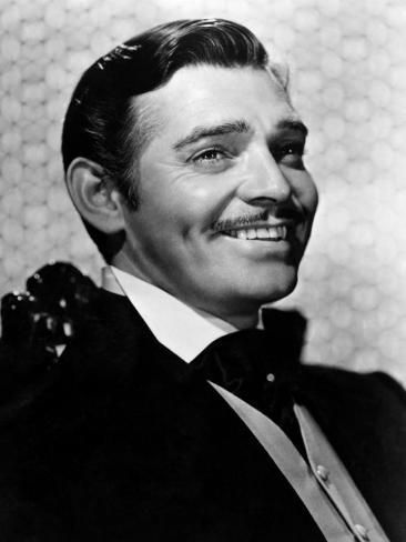 'Gone with the Wind, Clark Gable, 1939' Photo - | Art.com