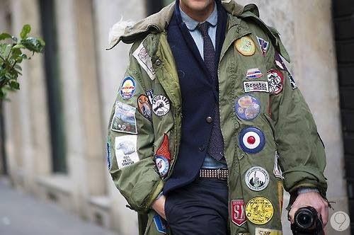 Resultado de imagen de mod parka badges | VESPA | Pinterest