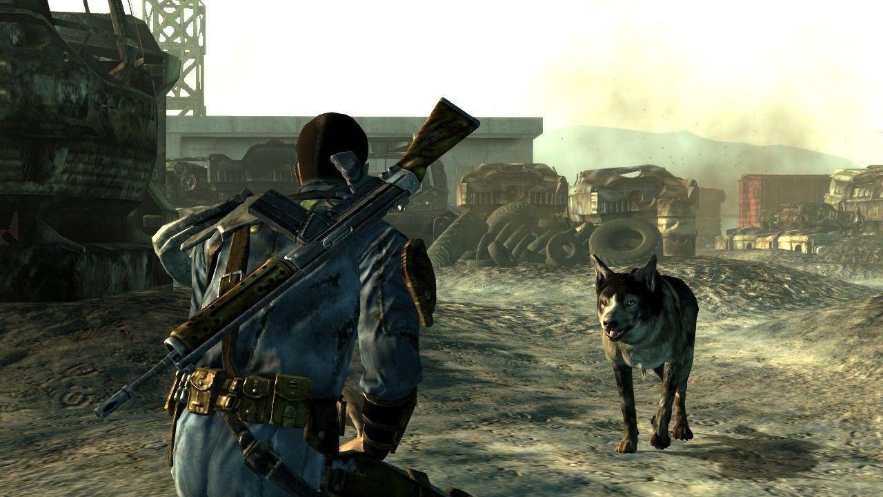 "Meeting ""Dogmeat"" in FALLOUT 3 dogmeat fallout3 war"